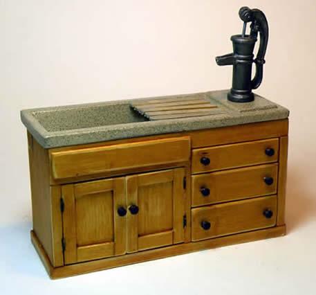 miniture working sink