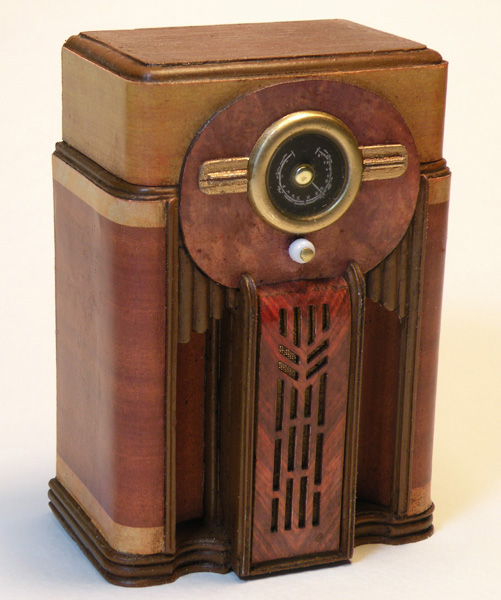 Miniature Antique Radio Reproductions - Miniatures by Shaker Works West