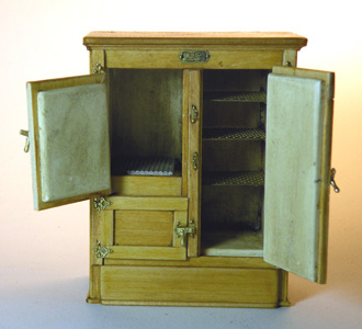 Miniature 1890 Ice Box