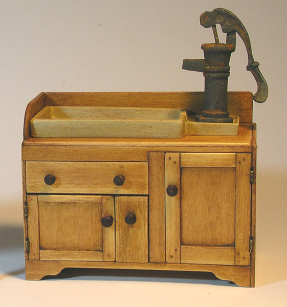 Miniature Kitchen Sink