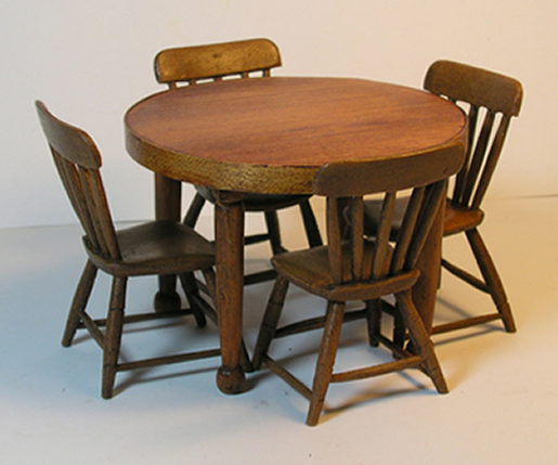 Miniature Shaker Inspired Round Dining Table