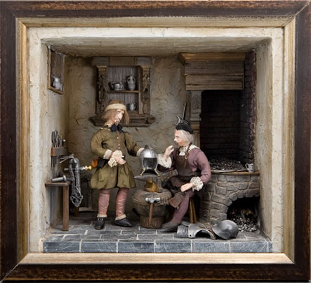 """A Bad Job"" Miniature Gallery Art Reproduction"