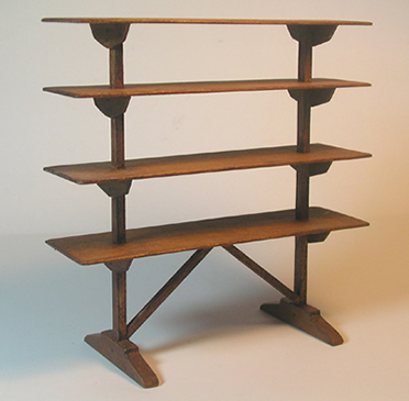 Miniature Flight of Shelves